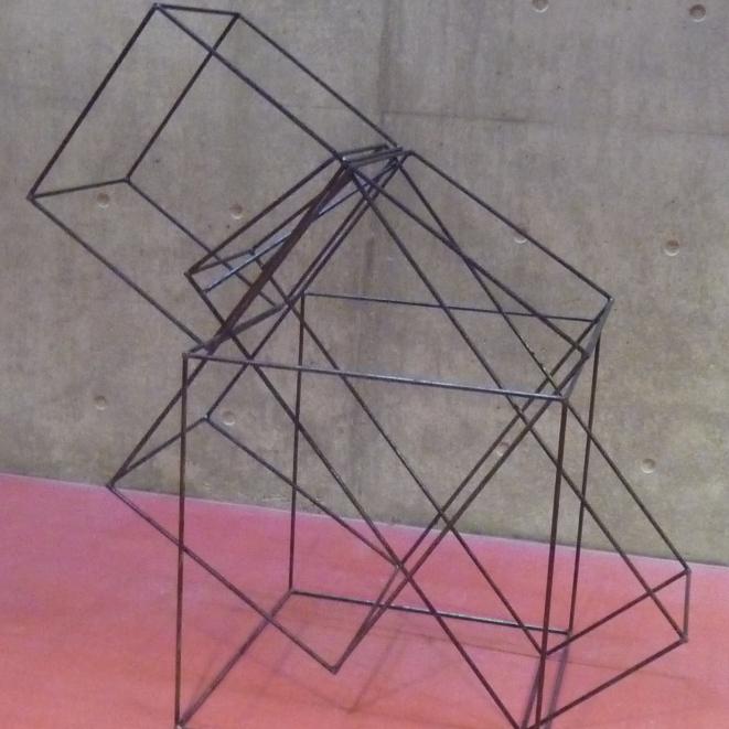 staaldraad sculptuur