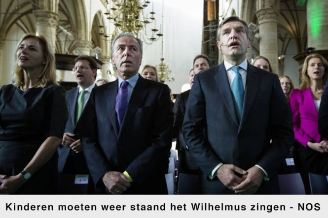 het Wilhelmus kunnen zingen hoort bij Nederland?
