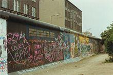 Berlijnse Muur juni 1989