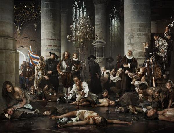 Liberty - pest en honger Leids Ontzet Erwin Olaf 2011
