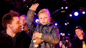 24-12-2016 BREDA Domien Verschuuren, Tijn Kolsteren en Frank van der Lende 3FM djs. Glazen Huis 2016. Foto ANP KIPPA SANDER KONING.