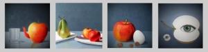 Een appeltje voor de dorst, Appels met peren vergelijken, Voor een appel en een ei, iemands oogappel zijn. Riek Jeijsman.