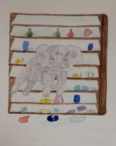 Als een olifant door de porseleinkast lopen. Miriam van Asten