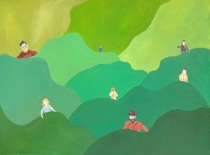 Het gras aan de andere kant van de heuvel is altijd groener. Hannah van der Wey.