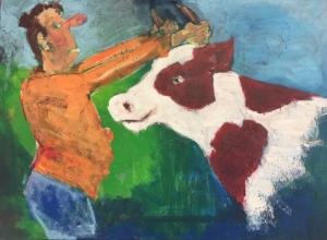 De koe bij de hoorns vatten. Martin Geerts.